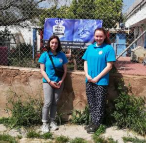 Anouk & Anna-Maria Voluntäre